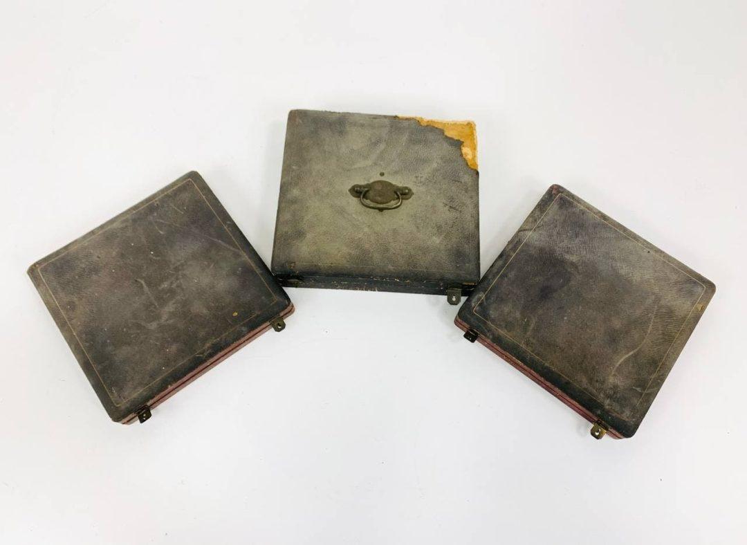Антикварные столовые приборы из серебра