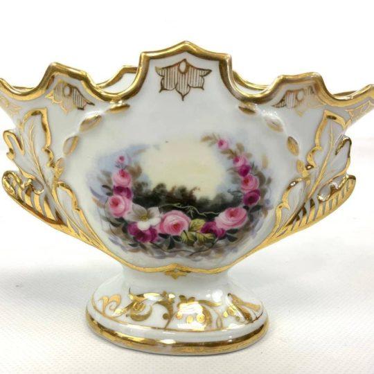 Антикварная фарфоровая ваза мануфактуры Vieux Paris