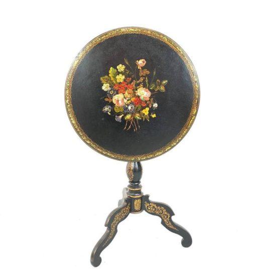 Антикварный складной столик эпохи Наполеона III