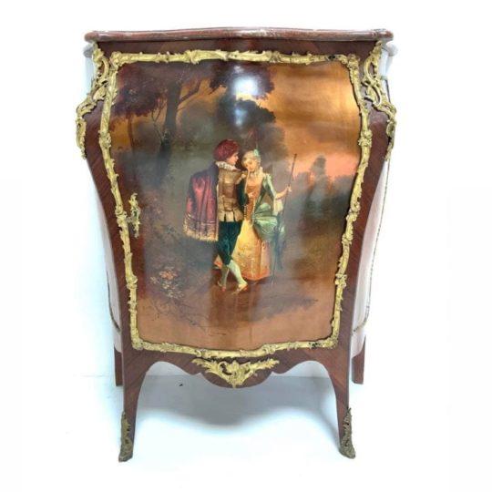 Антикварный комод  в стиле Louis XV Vernis Martin