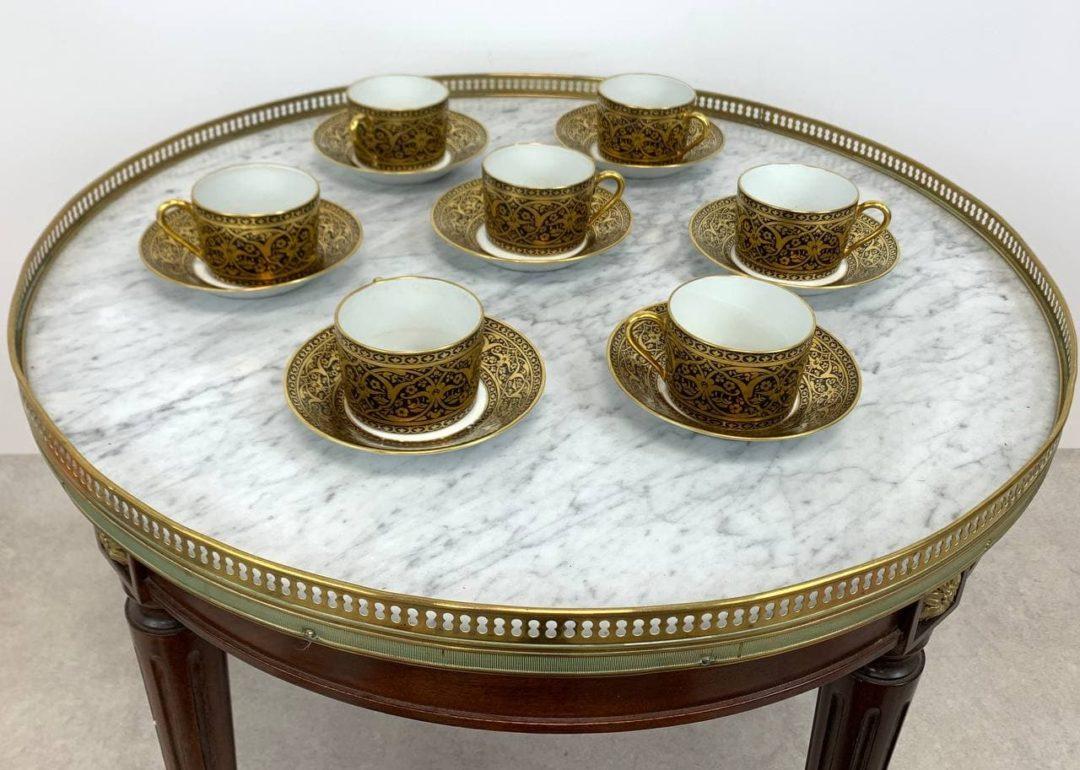 Винтажный кофейный сервиз Limoge