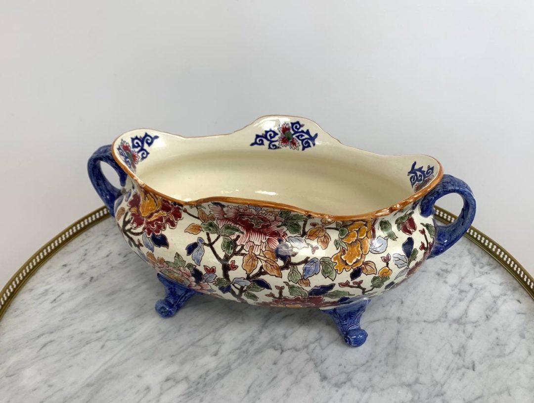 Антикварная ваза мануфактуры Gien