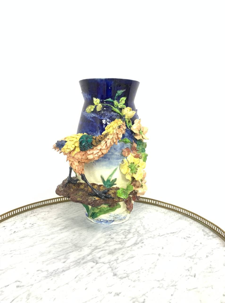 Антикварная ваза из барботина