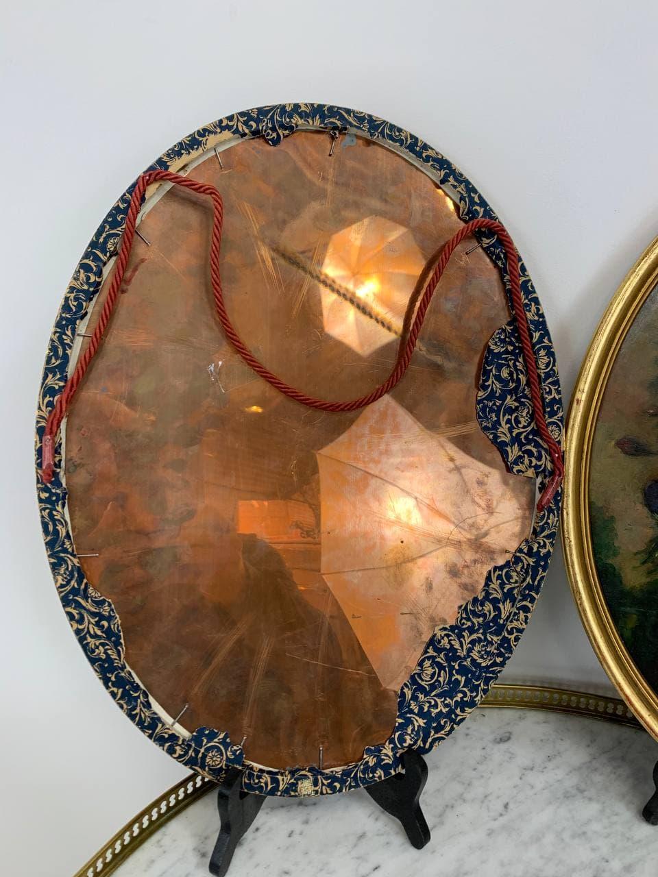 Антикварная пара картин жанра натюрморт