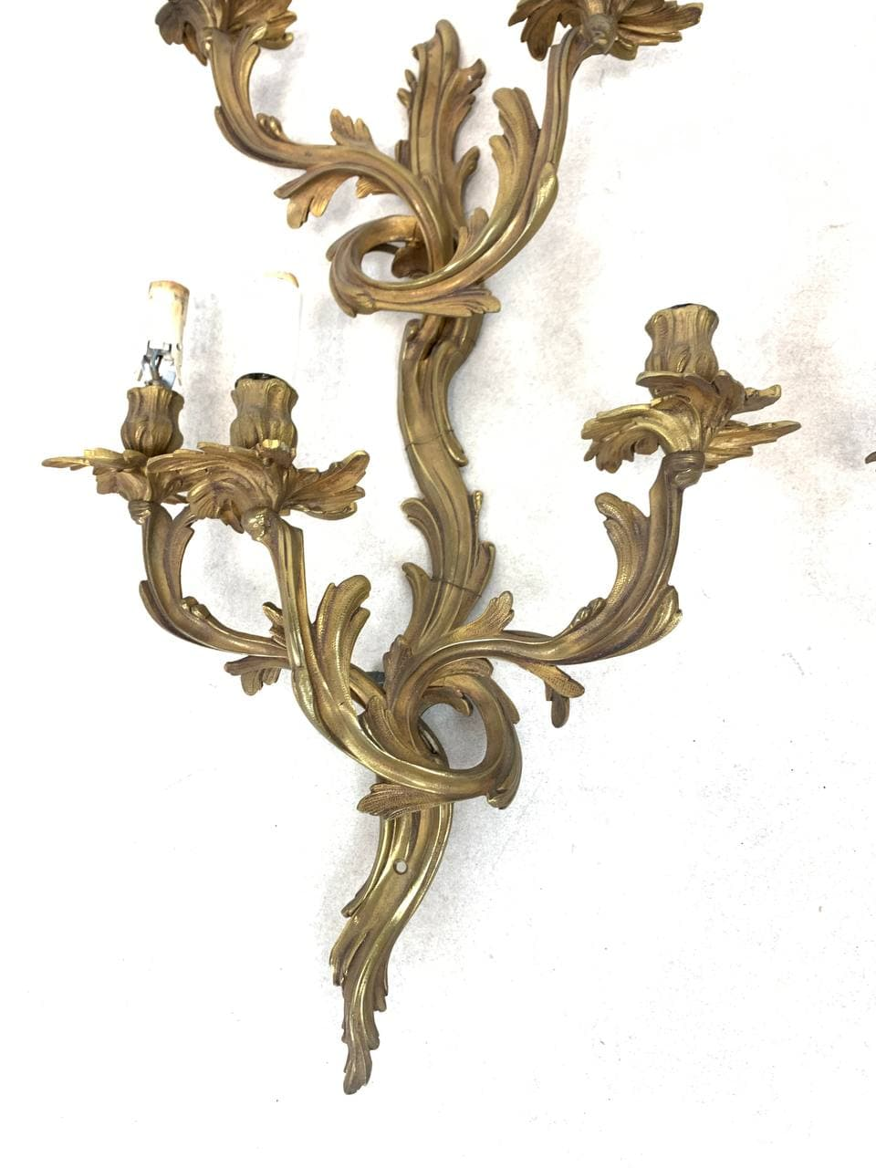 Антикварные бра в стиле Луи XV