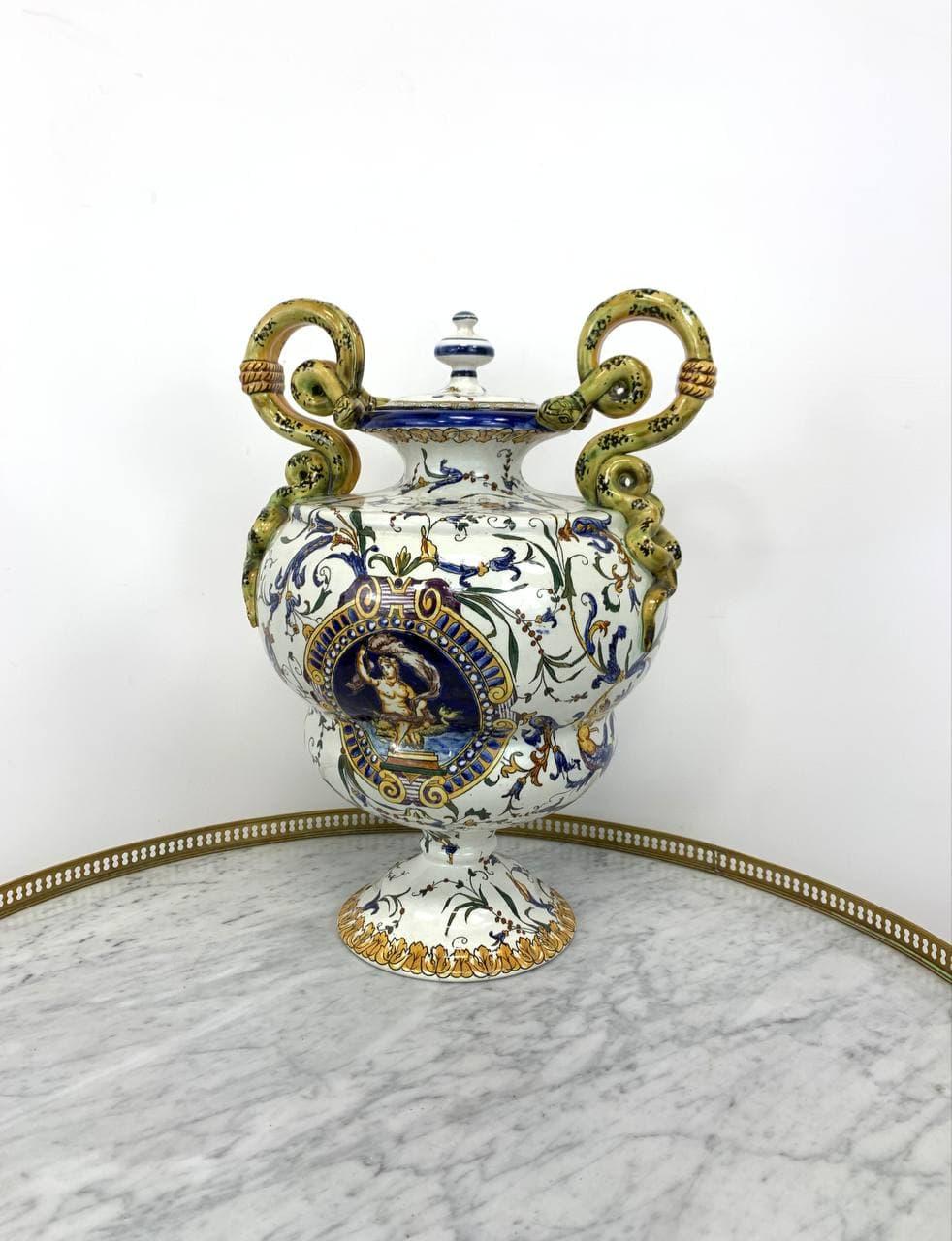 Антикварная коллекционная ваза Gien