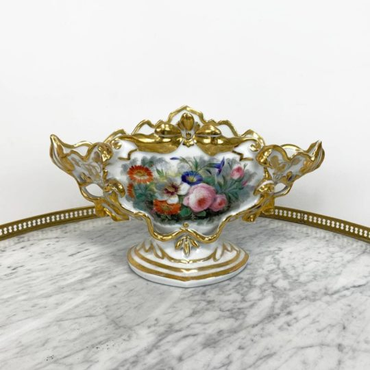 Антикварная расписная ваза мануфактуры Vieux Paris
