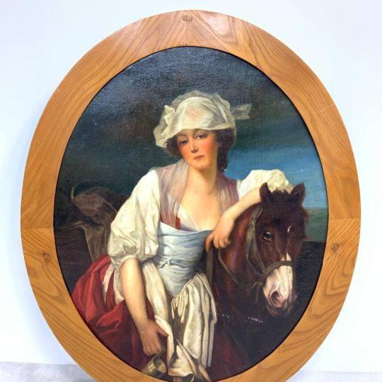 Антикварная живопись конца XIX века