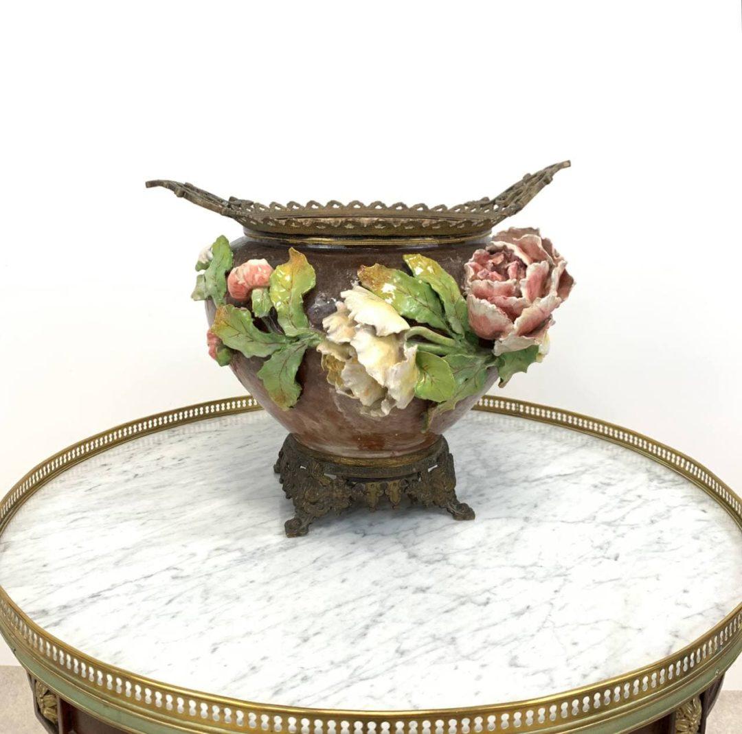 Антикварная ваза барботин