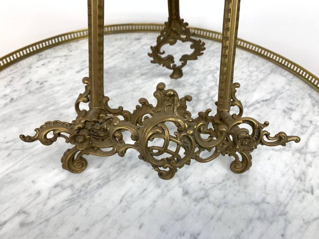 Винтажный бронзовый мольберт в стиле Рококо
