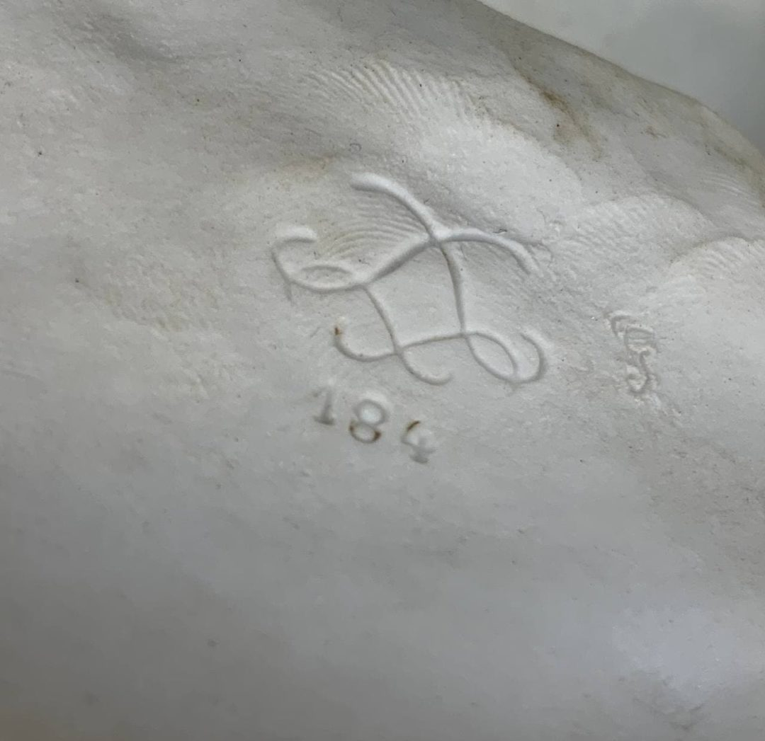 Антикварный бисквит мануфактуры Севр