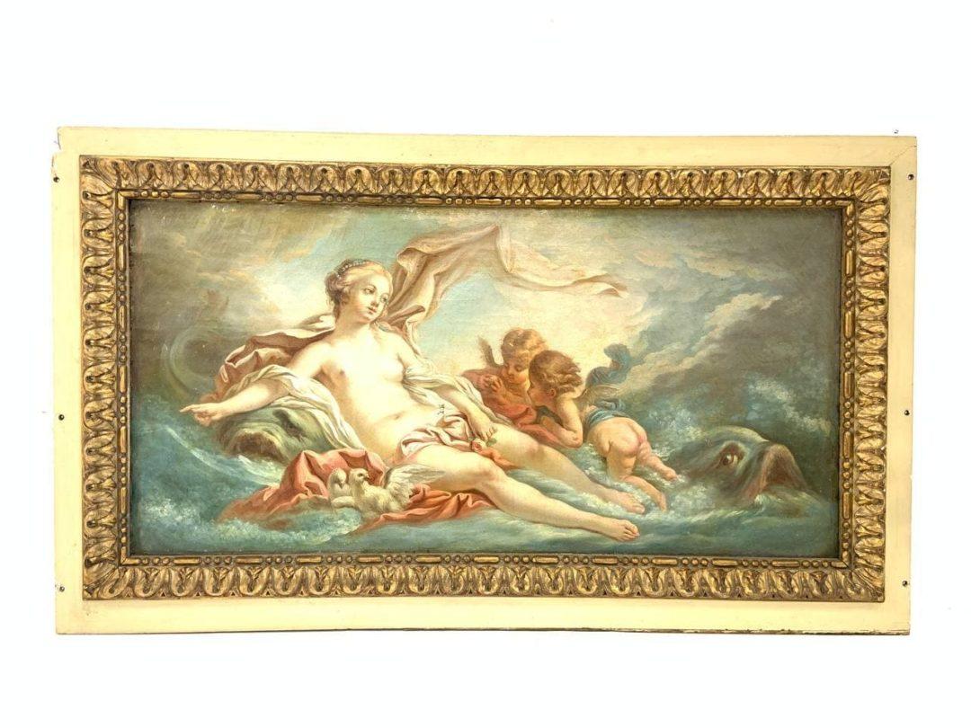 Антикварная живопись конца ХVIII века