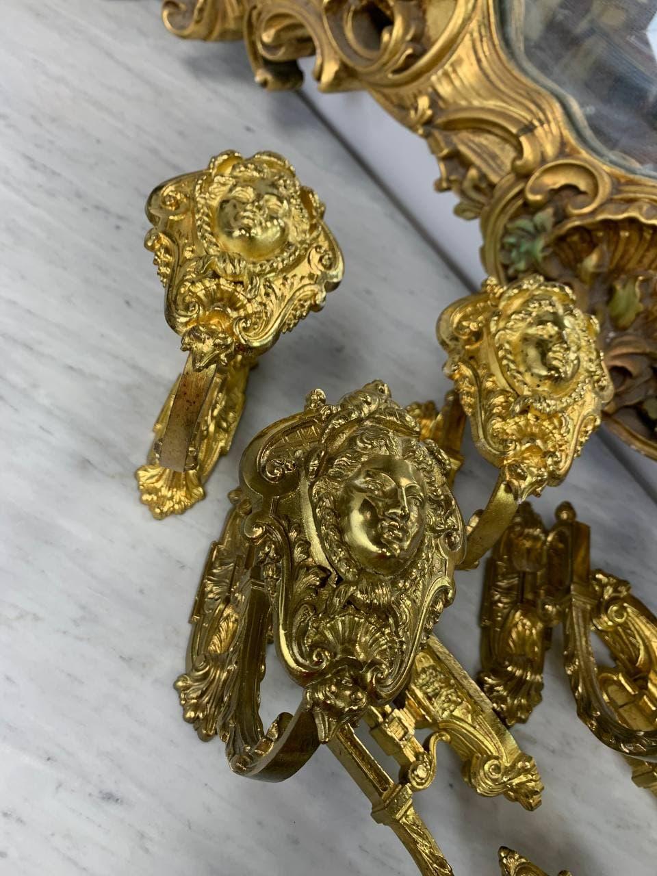 Антикварные держатели для штор в стиле Ренессанс