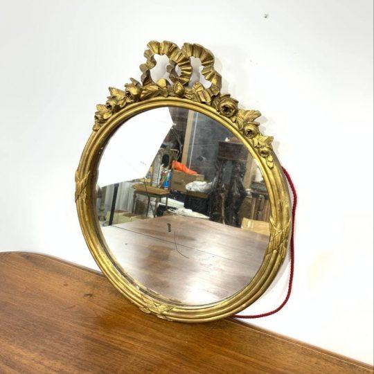 Антикварное зеркало в стиле Louis XVI