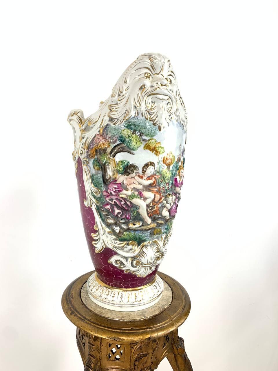 Винтажная фарфоровая ваза