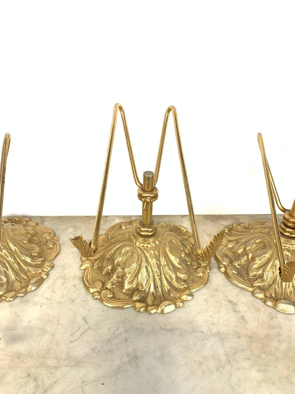 Винтажные подставки-презентуары из бронзы