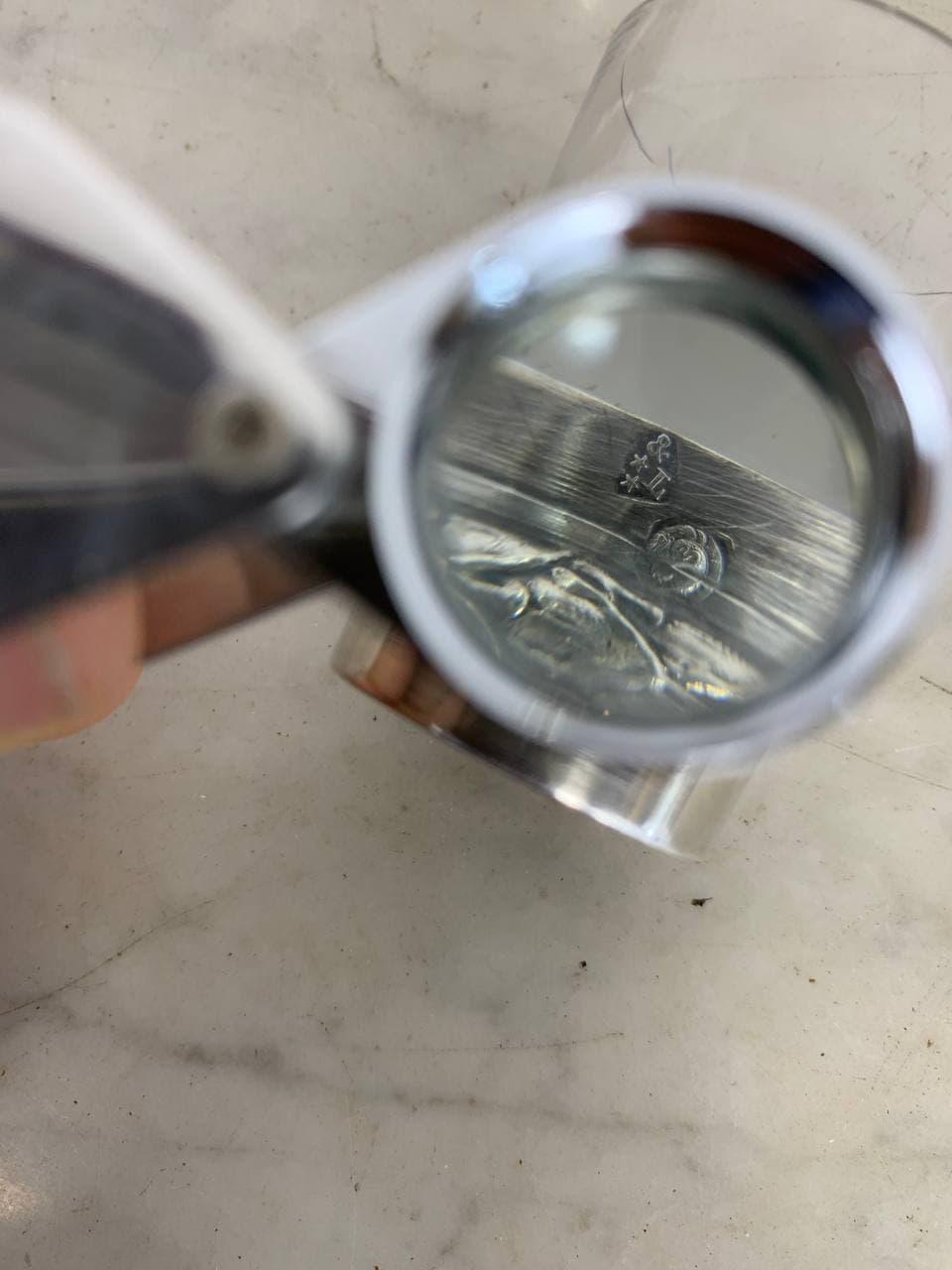 Антикварные графины и рюмки в серебре