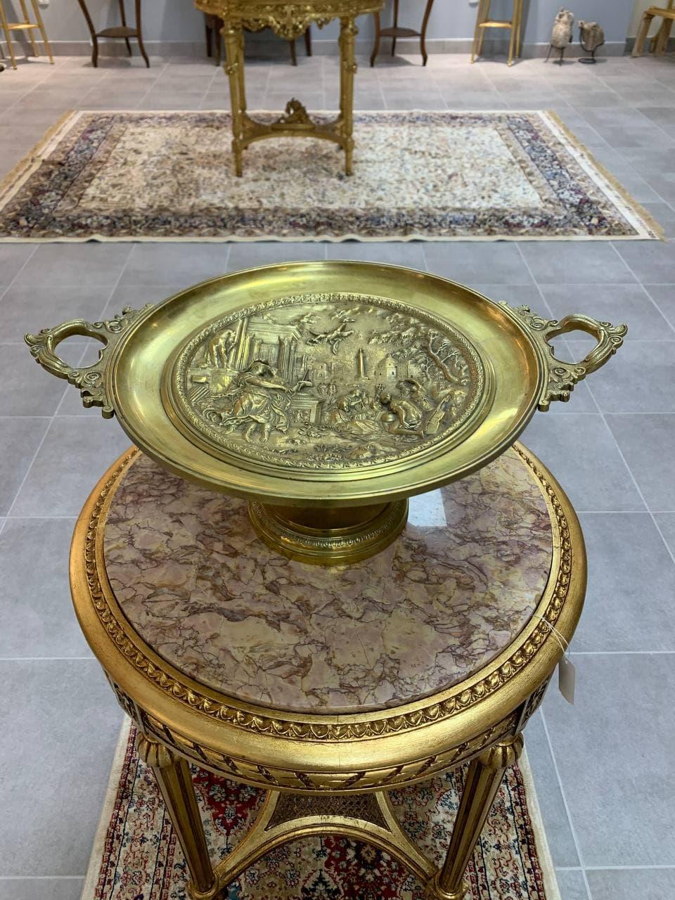 Антикварный кубок из бронзы