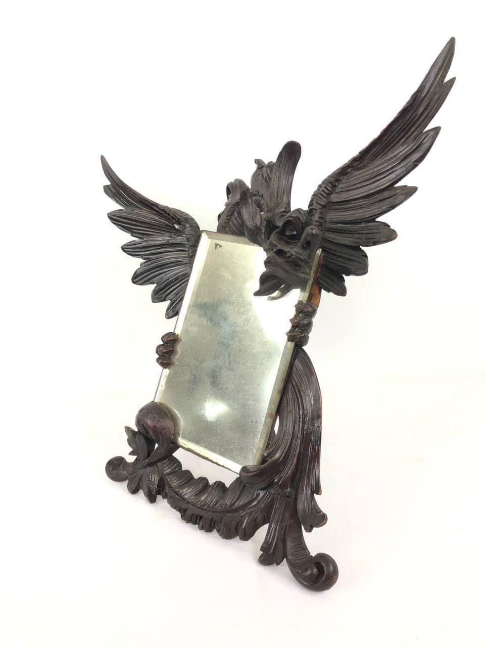 Антикварное настольное зеркало