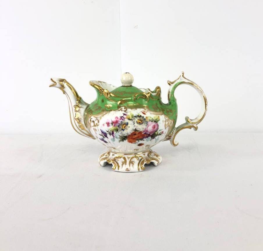 Антикварный фарфоровый чайник Vieux Paris