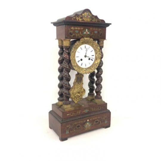 Антикварные часы эпохи Наполеона ІІІ